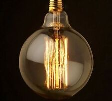 3 PACK G125 E27 40W Filament Edison Light Bulb Vintage Squirrel Cage Antique