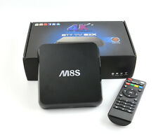 M8S 4K Android TV Box IPTV KODI XBMC WiFi Amlogic S812 Quad Core