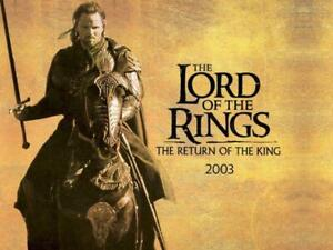 Poster The Lord of the Rings Lotr Print Film Cinema The Return Of King 33