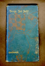 Antique Book Twice Told Tales By Nathaniel Hawthorne Hardcover 1890s Edition