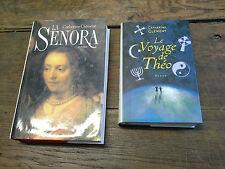 Catherine Clément La Senora + Le voyage de Théo / Lot de 2 livres