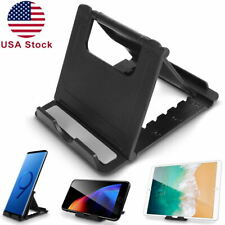 360° Cell Phone Tablet Stand Holder Foldable Dock Cradle Mount For iPhone Galaxy