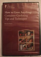 Teaching Co Great Courses  DVD :   HOW TO GROW ANYTHING : Container Gardening