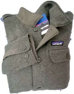 Nwt $159 Patagonia 25840 Stonewash Green Better Sweater Coat Jacket Mens Large