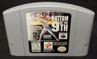 Bottom of the 9th Baseball  - *Authentic* Nintendo 64 N64 Game Working / Tested