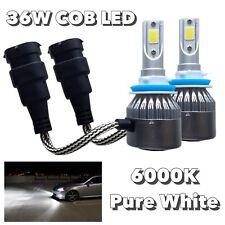 H8 Bulbs Bumper Fog Light 36W X2 LED High Power COB 6000K White M1 AR