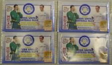 LEEDS UNITED FOOTBALL CARDS 1998 FUTERA TRADING CARDS Unopened packets x 4