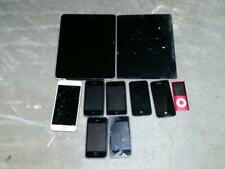 10 iphones ipads ipods *Parts Repair Untested* A1285 A1337 A1395 S A1303
