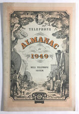 Telephone Almanac For 1949 Vintage Bell Telephone System Publication AT&T