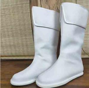 2021 Chinese Traditional Hanfu Boots Hanfu Shoes Black Platform Boots Top