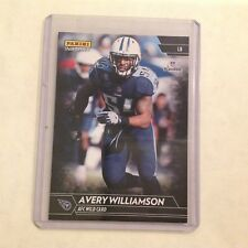 Avery Williams RC #394 Titans / Temple 1/1 Made 2017 Panini Instant Black NFL