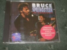 BRUCE SPRINGSTEEN-IN CONCERT-PLUGGED-CD/LTD EDITION 1993 EUROPEAN TOUR/90S/ROCK