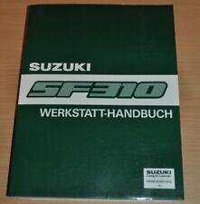 SUZUKI Swift SF 310 Bremsen Kupplung Motor Getriebe 1988 Werkstatthandbuch