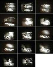 8 mm Film 6 Filme Comics Micky,Bags Bunny,Donald,Pinocchoi mix-Old Comics Films