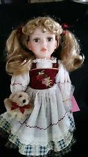 "Ashley Cooper Doll Kimberly 16"" Blonde Nib Porcelain Lmtd. Ed."