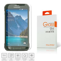 Nacodex HD Tempered Glass Screen Protector for Samsung Galaxy S5 Active SM-G870