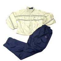 Vintage Reebok Windbreaker Jacket Pants Set Tracksuit Men's Size Large
