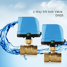 "G3/4"" DN20 2 Way 220V Control Motorized Electrical Ball Valve"