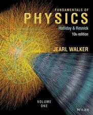 Fundamentals of Physics, Chapter 1-20 Vol. 1 by Halliday and Resnick