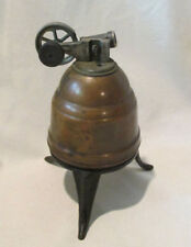 "Early Unusual Spun Copper Bee Hive Toy STEAM ENGINE Motor Rare 6.5"" Antique Old"