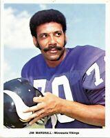 Minnesota Vikings JIM MARSHALL Glossy 8x10 Photo NFL Football Print Poster
