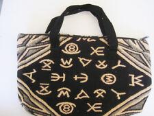 Handwoven Western Cowboy Brands Jacquard  Bag