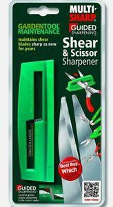 New MULTI SHARP TUNGSTEN CARBIDE SHEAR & SCISSOR SHARPENER 1401