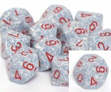 Speckled 10 Die Set D10 - Air Chessex GAMING SUPPLY BRAND NEW ABUGames