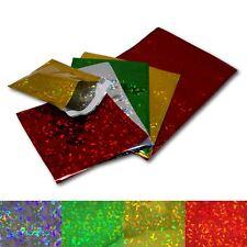 More details for holographic metallic gloss foil peel & seal mailing gift postal bag envelopes