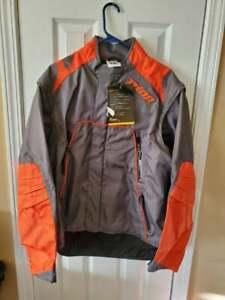 THOR Jacket S6 Range GREY/ORANGE MEDIUM