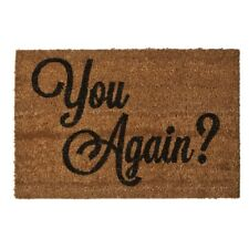 """PVC Backed Coir """"You Again"""" Doormat For Home Office Brand New"""