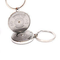 Useful Perpetual Calendar Keyring Keychain Unique Metal Key Chain Ring 50  Pz