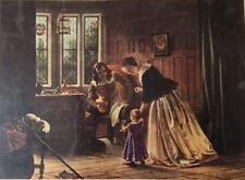 The First Step By Richard Caton Woodville