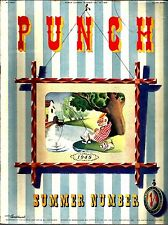 PUNCH Summer Number- May 10 1948, soft cover magazine