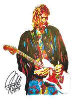 KURT COBAIN Minimalist Music Poster Posteritty Minimal Print Nirvana Unplugged