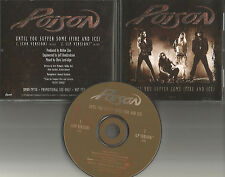 Bret Michaels POISON Until you suffer some RARE CHR MIX USA 1994 PROMO CD single