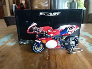 Minichamps 1:12 Ducati 996 R World Superbike 2001 Ben Bostrom 122 011255