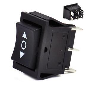 interrupteur a bascule 6 Pin 3 positions DPDT ON OFF 250V 16A Rocker Switch Neuf