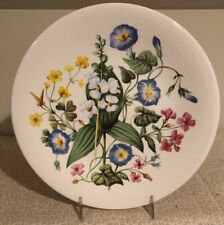 Vintage Enoch Wedgwood Wild Flowers of Southern Us Avon Collector Plate