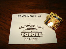 Baltimore Orioles 1983 Promo Pin Toyota Dealers