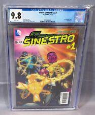 GREEN LANTERN #23.4 (3-D Lenticular Cover, Sinestro #1) CGC 9.8 DC Comics 2013