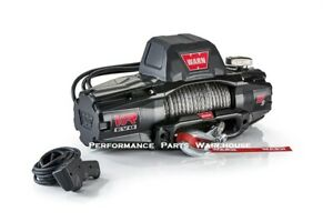 WARN VR EVO 12-S STANDARD DUTY WINCH - SYNTHETIC ROPE ALUMINUM FAIRLEAD 12000 LB