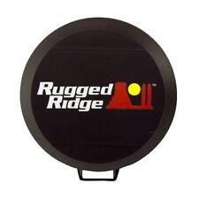 Hid Off Road Light Cover 6-Inch Black Each Rugged Ridge  X 15210.50