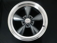 FORD MUSTANG MAG WHEELS GREY MACHINED SET 4  2 X 17 X 7+ 2 X 17 X 8  + LUG NUTS