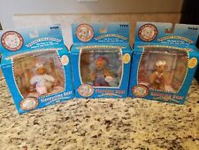 1995 TYCO VERMONT TEDDY BEAR POCKET COLLECTION LOT OF 3 NIB BALLERINA, SLEEPY