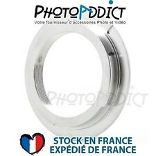Bague d'adaptation objectif M42 vers boitier Contax / Yashica