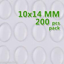 200PCS 10*14MM Oval Clear Epoxy Sticker Epoxy Resin for BOTTLE CAP C1903