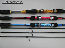 RED EYE-BLUE EYE-GOLD MAGIC FISHING ROD SPINNING ROD CARBON COMBO