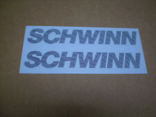 Schwinn Roadbike Bicycle Grey Frame Smaller Decal Set Le Tour Traveler Sprint ?