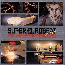 0783 CD Super Eurobeat Presents INITIAL D NON-STOP MIX KEISUKE Anime SOUNDTRACK